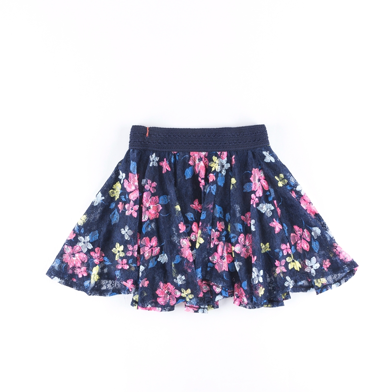 New arrival kids designer sexy short skirts