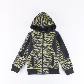 kids' knitted embroidered coat