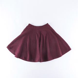 girls' knitted skirt