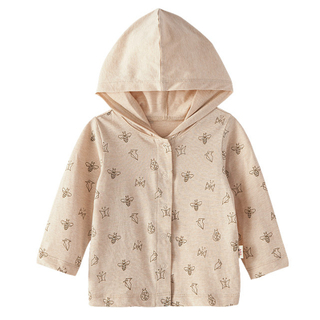 kids cotton hooded coats